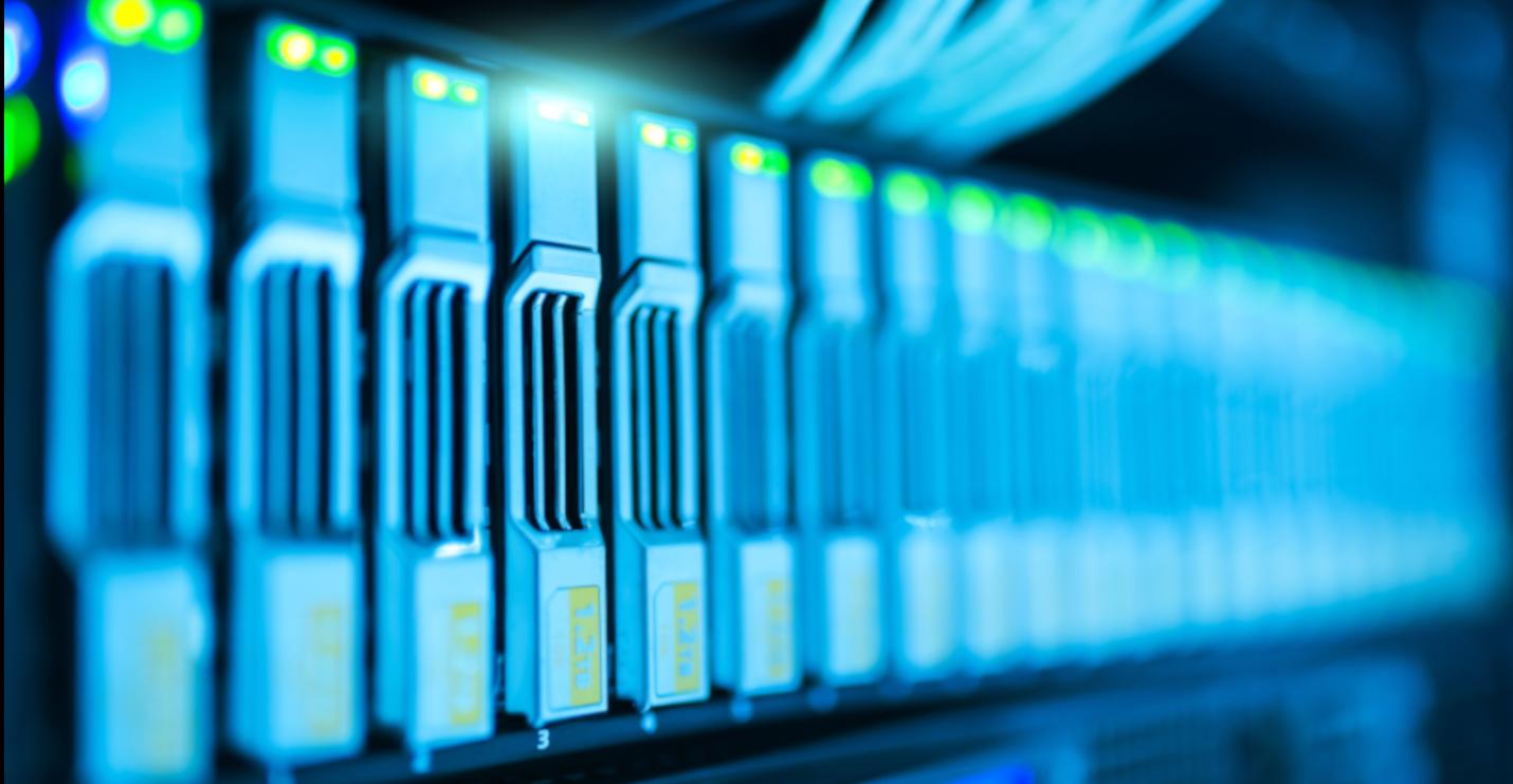 Viele Festplatten-Server